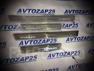 Порог пластиковый. Toyota Prius, ZVW35, ZVW30, ZVW30L