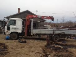 Nissan Diesel. Продам грузовик бортовой с крановой установкой, 6 925 куб. см., 7 000 кг.