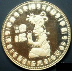 Монета 100 долларов 1978г золото