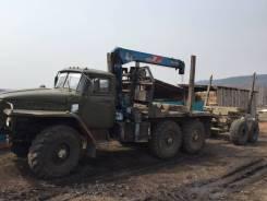 Урал 4320. Продам лесовоз урал, 10 850 куб. см., 10 000 кг.