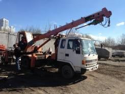 Isuzu Forward. Продам ямобур ( автобуровая) , 6 000 куб. см., 2 000 кг.