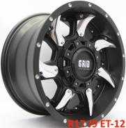 Новые! Оригинал! GRID GD1 R17 J9 ET-12 5X127 [2384/2385]. 9.0x17, 5x127.00, ET-12, ЦО 71,6мм.