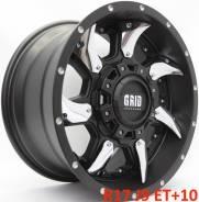 Новые! Оригинал! GRID GD1 R17 J9 ET+10 5X139.7/150 [2386/2387]. 9.0x17, 5x139.70, 5x150.00, ET10, ЦО 108,0мм.