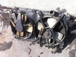 Радиатор охлаждения двигателя. Mitsubishi: L200, Challenger, Pajero Sport, Delica, Pajero Pinin, Pajero, Eclipse, Strada Двигатель 4D56