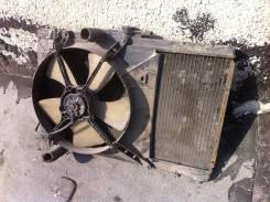 Радиатор охлаждения двигателя. Toyota Starlet, EP90