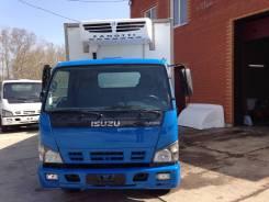 Isuzu NQR. -75 Рефка Левый руль! 5ТОНН, 5 200 куб. см., 5 000 кг.