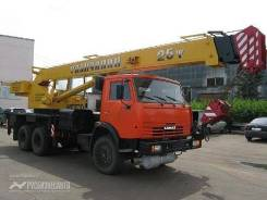 Галичанин КС-55713-1. Автокран КС-55713-1, 6 700 куб. см., 25 000 кг., 30 м.