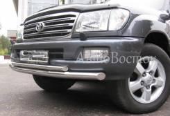 Защита бампера. Toyota Land Cruiser, J100. Под заказ