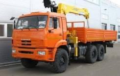 Камаз 43118 Сайгак. КМУ Камаз 43118-3027-46+Soosan SCS736LII верх. упр. +борт сталь 6.2м в, 6 500 куб. см., 10 000 кг.