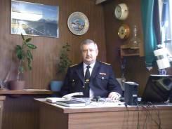 Заместитель директора по безопасности мореплавания. Высшее образование по специальности, опыт работы 7 лет