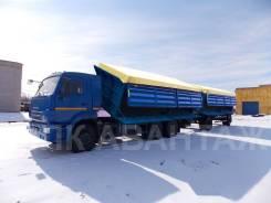 Камаз 65117. зерновоз ДВС Камаз 280 л. с. КПП-ZF, 7 777 куб. см., 14 000 кг.