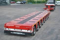 Nooteboom. Продам трал низкорамник тяжеловоз 8 осей, 135 200 кг.