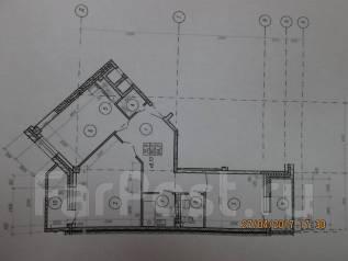 2-комнатная, улица Крестьянская 179. ж.д. вокзала, агентство, 84 кв.м. План квартиры