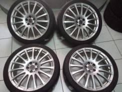 К Продам комплект колес R18 5*100. Только из Японии. 7.5x18 5x100.00 ET38