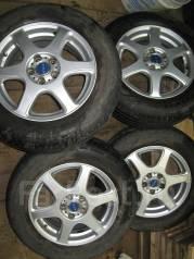 Продам отличный комплект летних колес. x15 5x100.00