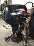 Suzuki. 30,00л.с., 2х тактный, бензин, нога S (381 мм), Год: 2008 год