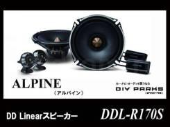 Alpine DDL-R170S 2-х компонентная акустическая система
