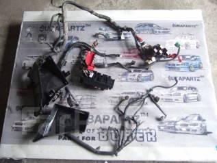 Проводка под радиатор. Subaru Legacy, BP5 Двигатель EJ20X