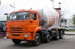 Камаз 6540. Автобетоносмеситель 69365J на шасси Камаз-6540 9м3 (ЕВРО 4)