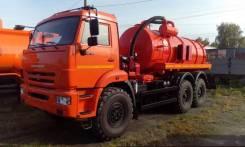АКН-10-01-43118 на шасси Камаз-43118-3918-46 вакуумная (нефтепромыслов