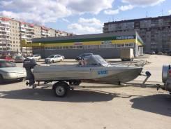 Казанка-5М. длина 4,90м., двигатель стационарный, 40,00л.с., бензин