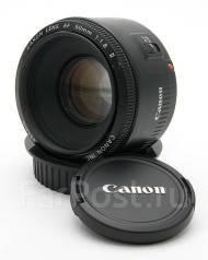 Объектив Canon EF 50mm f/1.8 II. Для Canon, диаметр фильтра 52 мм