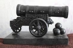 Царь-пушка большая, чугун, Касли. Оригинал