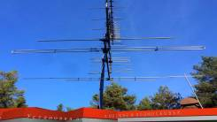 Установка телевизионных эфирных и спутниковых антенн