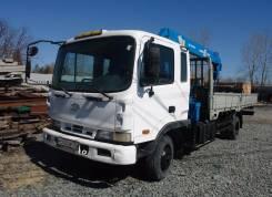 Hyundai 120D-7. Продам грузовик с манипулятором, 7 600 куб. см., 5 000 кг.