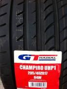 GT Radial Champiro UHP1. Летние, 2017 год, без износа, 1 шт