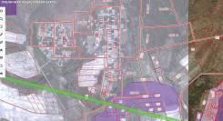 Земельный участок в районе п. Кролевцы, гор. Артём. Схема участка