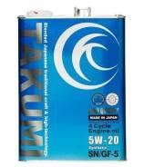 Takumi. Вязкость 5W-20, синтетическое