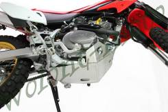 Защита двигателя ZE55-2120 ZETA ED Skid Plate XR230