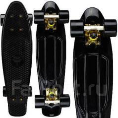 """Отличный скейт борд черный mini 22"""""""
