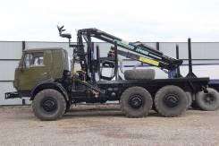 Камаз 4310. Продается лесовоз КамАЗ 4310 (с хранения) с гидроманипулятором, 11 000 куб. см., 8 000 кг.