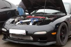 Интеркулер. Mazda RX-7, FD3S Двигатель 13BREW