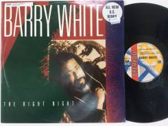"JAZZ! FUNK! Барри Уайт / Barry White - The Right Night - UK 12"" 1989"