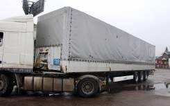 Krone SD. Полуприцеп бортовой-тентованный, 39 000 кг.