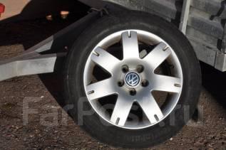 Колеса VW 5x112 205/55R16 Audi VW Golf Skoda Passat Seat Borbet. 7.0x16 5x112.00 ET37 ЦО 57,1мм.