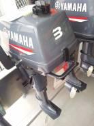 Yamaha. 3,00л.с., 2х тактный, бензин, нога S (381 мм), Год: 2016 год