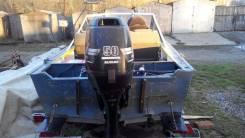 Suzuki. 50,00л.с., 4х тактный, бензин, нога L (508 мм), Год: 2003 год