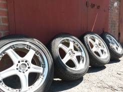 RAYS GT-C VOLK Racing, R-18, 5x114,3 JJ8,0 ET 37. 8.0x18 5x114.30 ET37 ЦО 73,1мм.