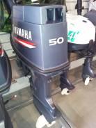 Yamaha. 50,00л.с., 2х тактный, бензин, нога S (381 мм), Год: 2016 год