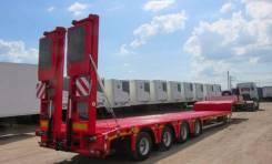 Kassbohrer. Новый низкорамный трал 58 т., 58 000 кг.