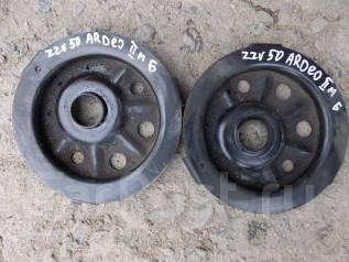 Опора амортизатора. Toyota Vista Ardeo, ZZV50G, ZZV50