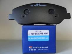 Тормозные колодки, Передние на Hyundai Maxcruz (2013- ) / SP1194 / SANGSIN