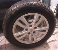 Зимние Колеса Toyota с резиной Bridgestone Blizzak Revo GZ 205/60 R16. 6.5x16 5x114.30 ET39 ЦО 60,1мм. Под заказ