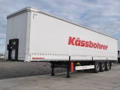 Kassbohrer. Keassbohrer шторно-бортовой полуприцеп с кониками и подъёмной осью.