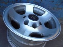 Toyota. 8.0x16, 6x139.70, ET0, ЦО 108,0мм.