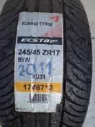 Kumho Ecsta SPT KU31. Летние, 2010 год, без износа, 4 шт